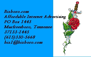 Please feel free to contact us. Thats what we are here for...biz1@bizboro.com