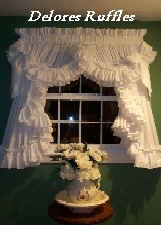 Curtains Ruffles Country Window Curtains Murfreesboro