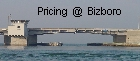 Pricing @ Bizboro.com Standard Service is $2.00 YEAR That includes one page with your business information  on our site with 4 links to different categories here @ Bizboro.com